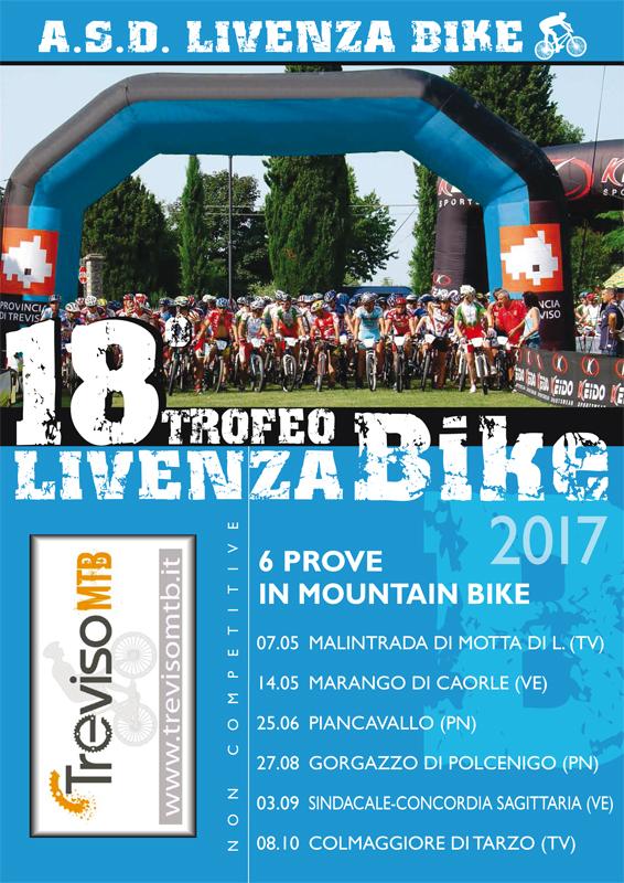 Risultati immagini per locandina livenza bike 2017